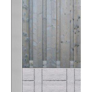 Hout beton schuttingen van Schutting33